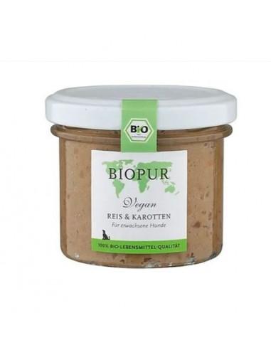 Cibo umido Bio Pur, vegetale e vegano, per cani con intolleranze alle proteine animali