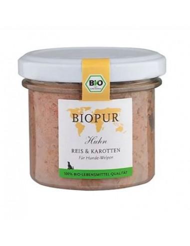 Cibo umido BioPur pollo riso carote...