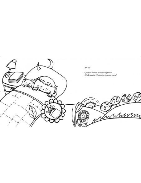 Colorando Filastrocche libro da colorare illustrazioni Raffaella Di Vaio