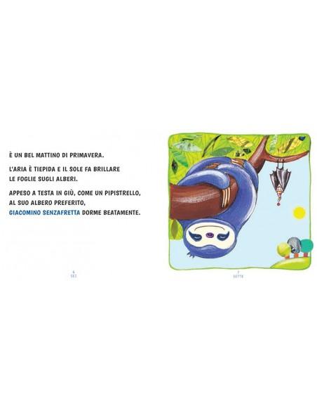 Giacomino SenzaFretta libro illustrato da Raffaella Di Vaio