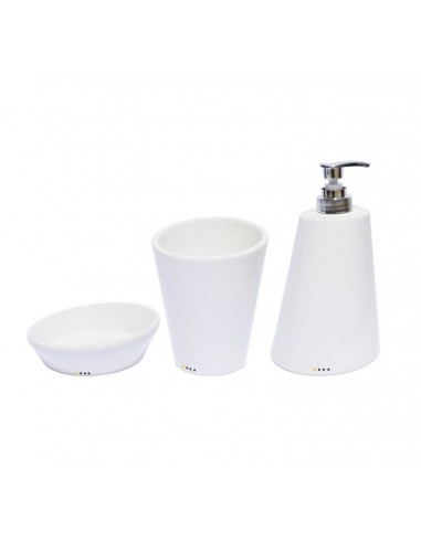 Bathroom accessories set 'oblique'