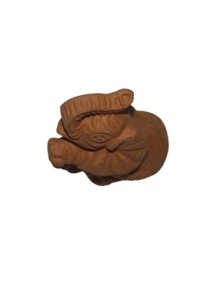Elefantino in ceramica di Faenza terracotta da decorare