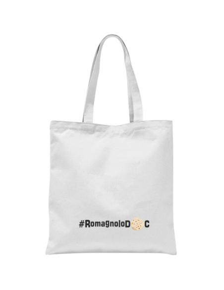Shopper in cotone RomagnoloDoc pratica e poco ingombrante