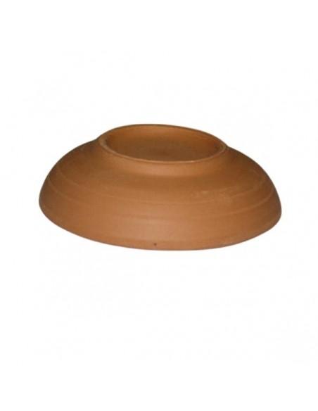 Piattino piccolo in ceramica terracotta di Faenza da decorare