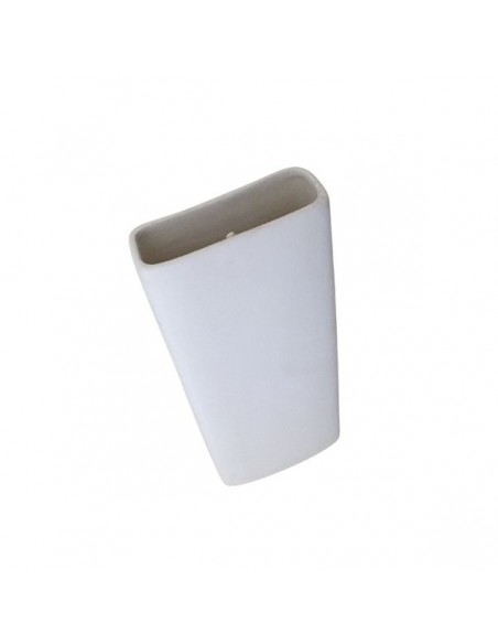 Umidificatore per termosifone in ceramica bianco