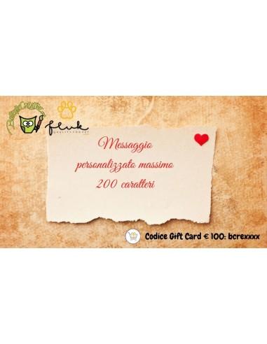 Carta regalo prepagata amore