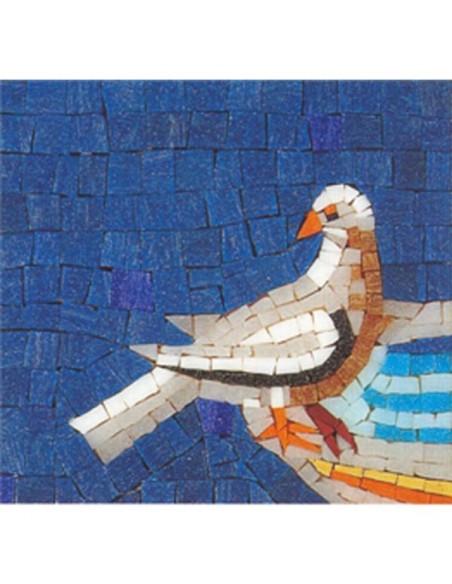 kit mosaico di Ravenna fai da te colomba