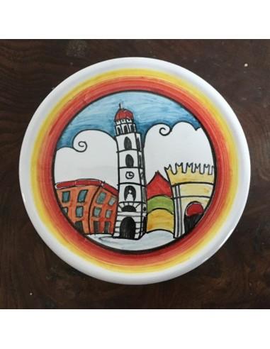 Sottobicchiere in ceramica Torre...