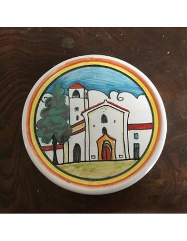 Sottobicchiere in ceramica Chiesa...